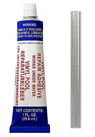 Steinbach 061350BX Poolfolie Unterwasser Reparatur-Set für Vinyl Folien, Folie und Kleber