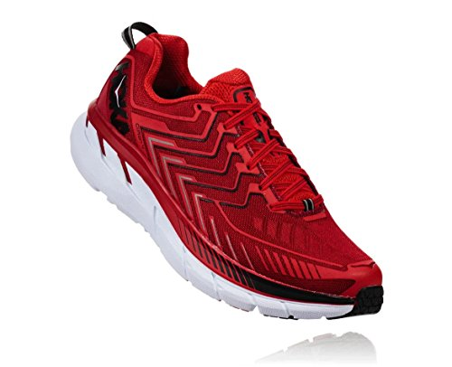 Hoka Clifton 4 Haute Red / High Red - Scarpa Running Uomo - 46