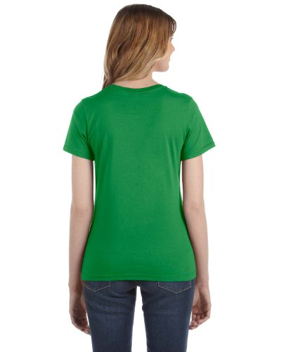 Anvil Damen T-Shirt, leicht tailliert Green Apple