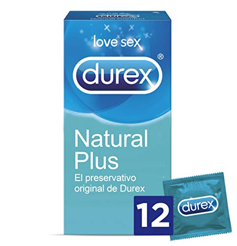 Durex Preservativos Natural Plus - Total 12 Condones
