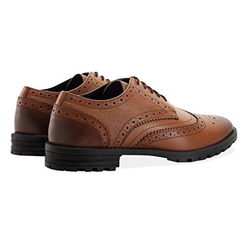 Redfoot Shoes , Herren Schnürhalbschuhe Hautfarben