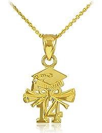 2e534943548a 10 quilates 471 1000 Oro 2014 Graduación del encanto del collar