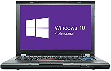 Lenovo ThinkPad T410 Notebook | 14,1 Zoll | Intel Core i5-520M @ 2,4 GHz | 4GB DDR3 RAM | 160GB HDD | DVD-Brenner | Windows 10 Pro vorinstalliert (Zertifiziert und Generalüberholt)