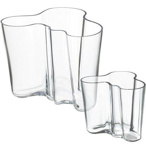 Iittala 950516 Aalto Vase Set 160 mm, 95 mm