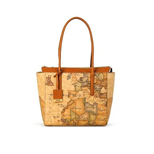 BORSA ALVIERO MARTINI GEO CLASSIC SHOPPING MEDIUM CD0876000 NATURAL