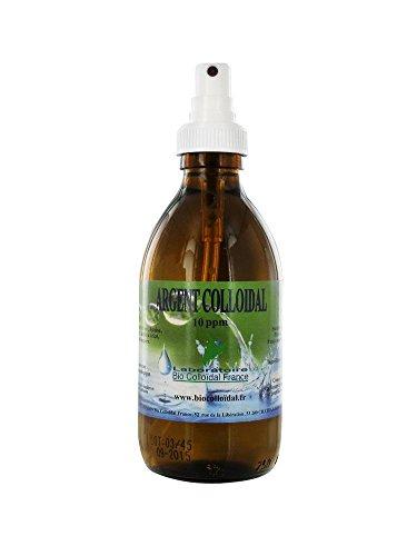 Bio Colloïdal Argent Colloïdal 10 ppm 250 ml