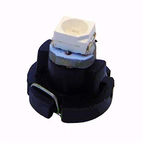WXCymhy T3 Led Neo Wedge SMD Armaturenbrett Kombiinstrument Licht Auto Instrumententafel Tacho Dash Birnen Blau Rot Grün Weiß Gelb 10 stücke glühbirne LED-Licht (Emitting Color : Blue) -