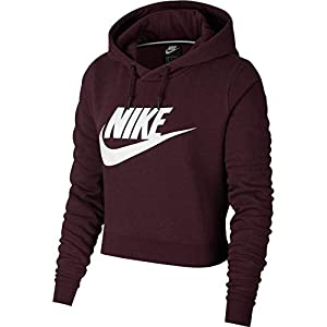 Nike W NSW Rally Crop Sweatshirt, Damen
