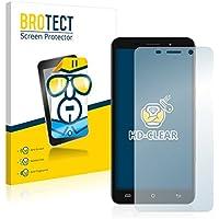 2x BROTECT HD-Clear Protector Pantalla Cubot X9 Película Protectora – Transparente, Anti-Huellas