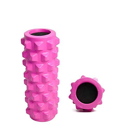 Masterein 1 rodillo de masaje de tejidos profundos EVA rodillo de yoga para liberación miofascial Terapia Física