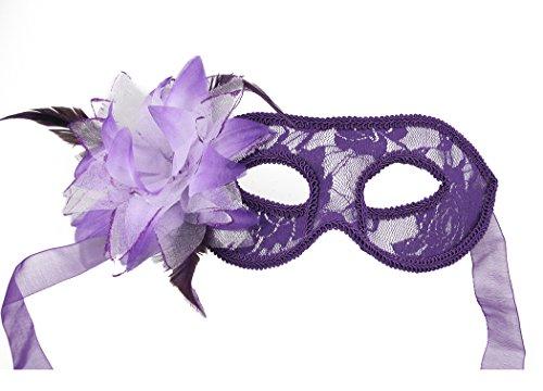 Venecia máscara Fancy fiesta encaje princesa máscara mascarada máscaras de plumas de la mitad de la cara Sexy Mujer Ojo Máscara