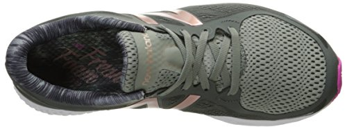 New Balance Women's Fresh Foam Zante v2 Running Shoe Grey/Pink