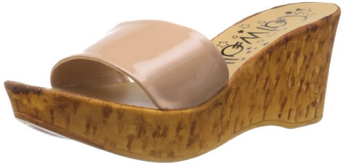 Catwalk Women's Nude Slippers - 7 UK