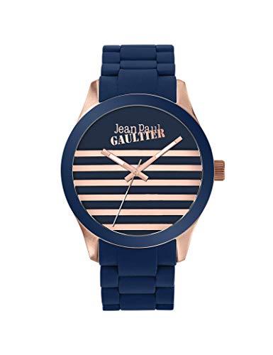 Montre Jean-Paul Gaultier en Silicone Unisexe H/F Bleu
