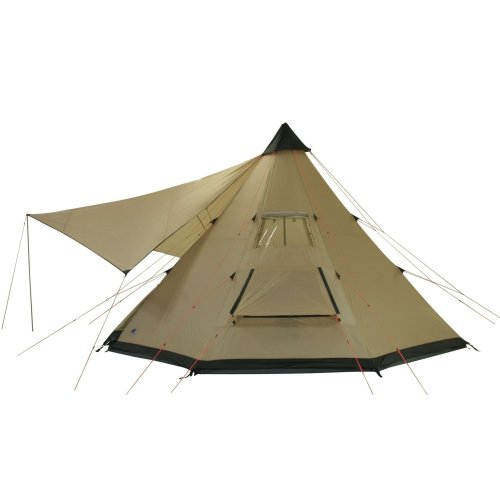41hR1svZDfL. SS500  - 10T Outdoor Equipment Waterproof Shoshone Unisex Outdoor Teepee Tent available in Beige  - 8 Persons