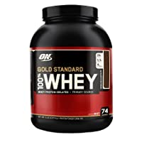 Optimum Nutrition 100% Whey Gold Standard, Double Rich Chocolate - 5 Lbs