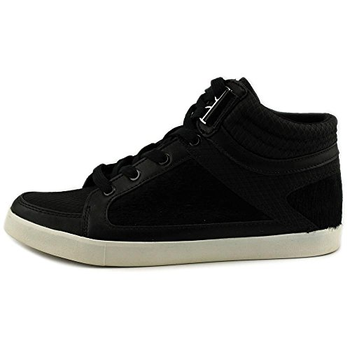 Calvin Klein Lyda Cuir Baskets Black