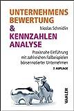 Unternehmensbewertung & Kennzahlenanalyse: Praxisnahe Einführung mit zahlreichen Fallbeispielen börsennotierter…