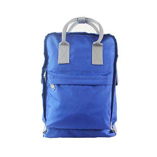 CBWZDJZDS Tragbarer Rucksack Student Computer Tasche Freizeit Reisen Bergsteigen Stuhl Rucksack 30X13X41Cm Blau