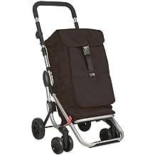 Play M103628 - Carro compra go up 4 ruedas plegable negro