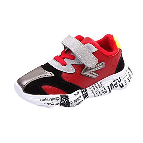 Zapatos de Cordones, ❤️ Zolimx Niños Bebé Niñas Chicos Patchwork Flecha Carta...