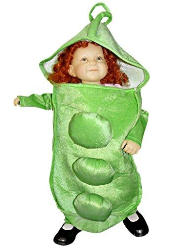 Sy13 86-92 Erbsen Kostüm Baby Kleinkind Kostüme für Babys Karneval Fasching