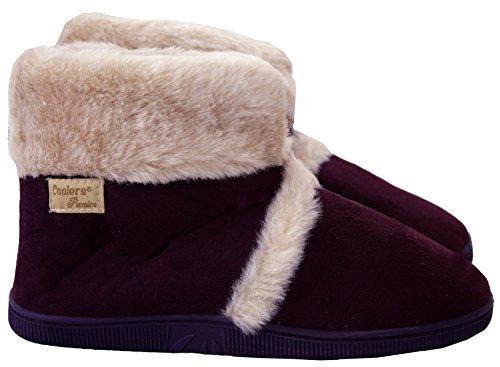 CoolersAd30163 - Pantofole da ragazza' donna Plum