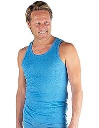4 Sous-vêtements Thermique Maillots Sans Manches Bleu, Tailles variées