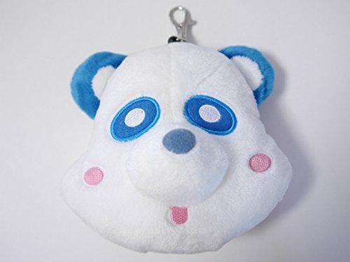 AAA Eh panda reel pouch stuffed blue Blue [Shinjiro Atae] -