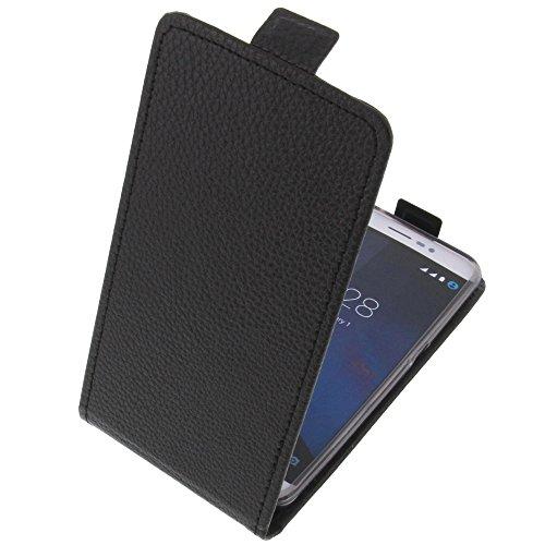 foto-kontor Tasche für coolpad Porto S Smartphone Flipstyle Schutz Hülle schwarz