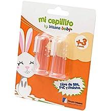 IrisanaBaby Mi Cepillito - Cepillo dental de silicona médica para bebé