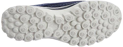 Skechers - GO Walk 2Super Sock, scarpe  da donna Blu (Nvgy)