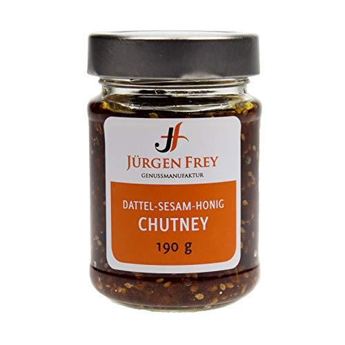 Honig-Dattel-Sesam Chutney