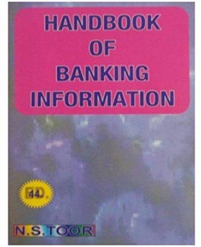 Handbook of Banking Information 44 EDITION