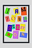 I AM YOUR SECRET SON: 6' X 9' LINED NOTEBOOK 120 Pgs. PERFECT GIFT. Notepad, Bullet Journal, Diary, Goals, Blog Log, Ideas, Quotes...