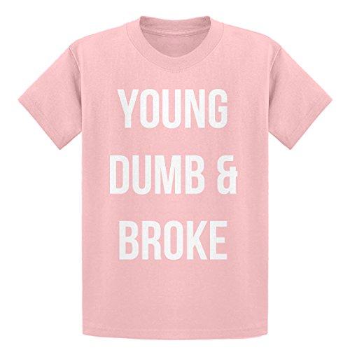 59798b5cc15c5f Indica Plateau Young Dumb   Broke Youth T-Shirt - Pink -