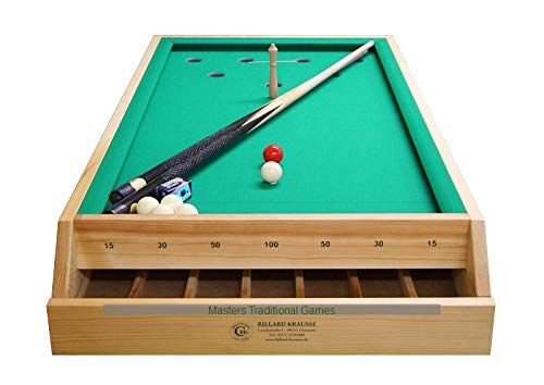 Masters Traditional Games Table-Top Bar Billiards Table (4 Foot)