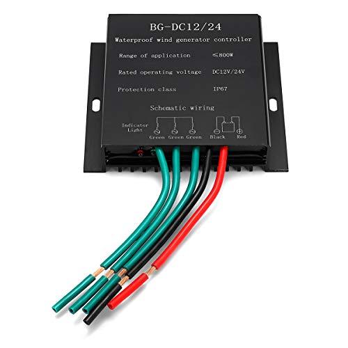 RanDal 12 / 24V 800W Controlador De Generador Eólico