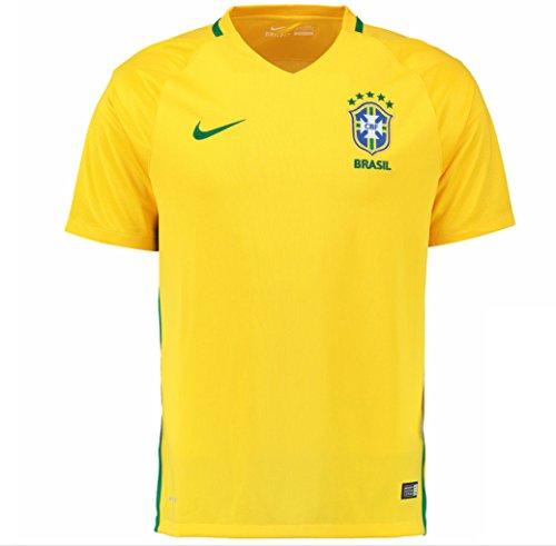 Nike Confederación Brasileña de Fútbol 2015/2016 - Camiseta Oficial, Talla XS