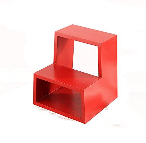 Ladder Eki Purpurrote Farbe Unterschlagungsbeine Ändern Sie 2 Schichten Rumpfflore