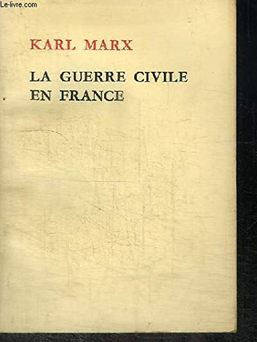 La guerre civile en France.