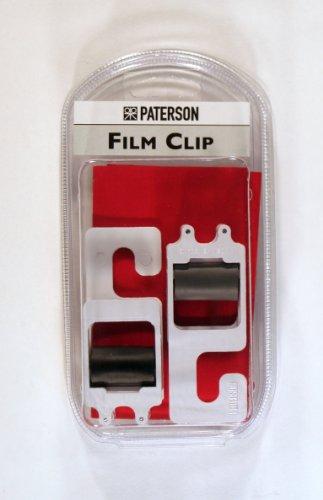 Paterson PTP218 - Juego de clips para película, color blanco