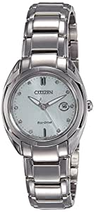 Citizen Analog White Dial Women's Watch - EM0310-61A