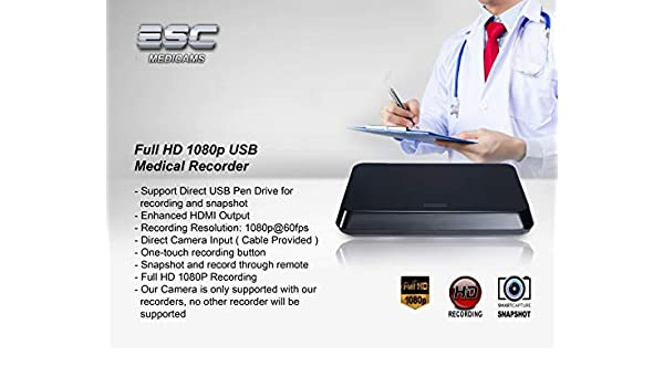 Buy ESC Medical Recorder Full HD 1080p USB Ent Nasal