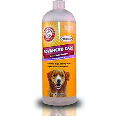 Arm & Hammer Advanced Care Dental Water Additive Tartar Control, 32 FL oz from Company Of Animals