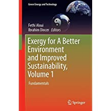 Exergy for a Better Environment and Improved Sustainability: Fundamentals
