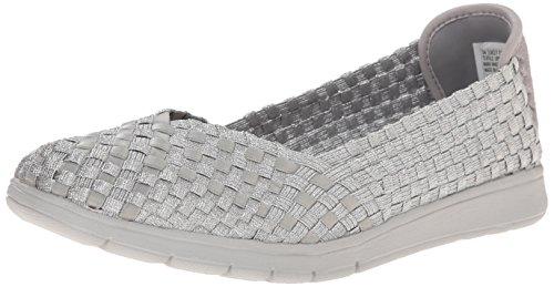 Femmes Sketchers Pure Flexible Chaussures En Argent silver