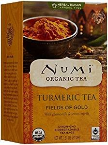Numi Organic Tea Turmeric Fields of Gold