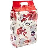 NHR Claret White 2 Ply Bathroom Tissue Toilet Roll - Pack of 6