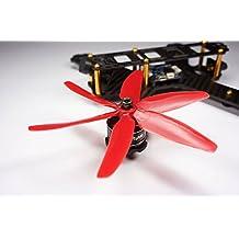 10 Paare Kingkong 5040 5x4x3 3-Blatt CW CCW Propeller Für FPV Racer Quadcopter